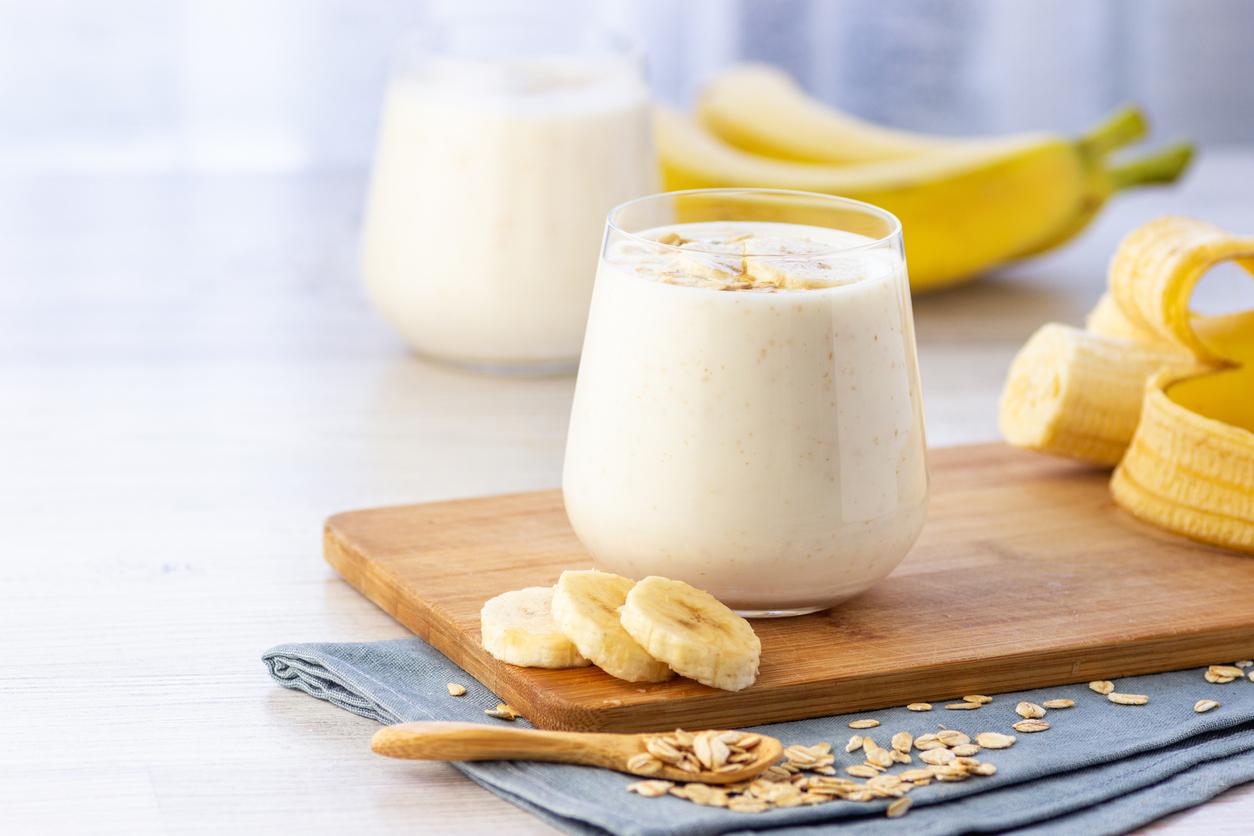 Un smoothie banane